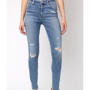 AGOLDE high rise skinny Sophie beyond wash size 27